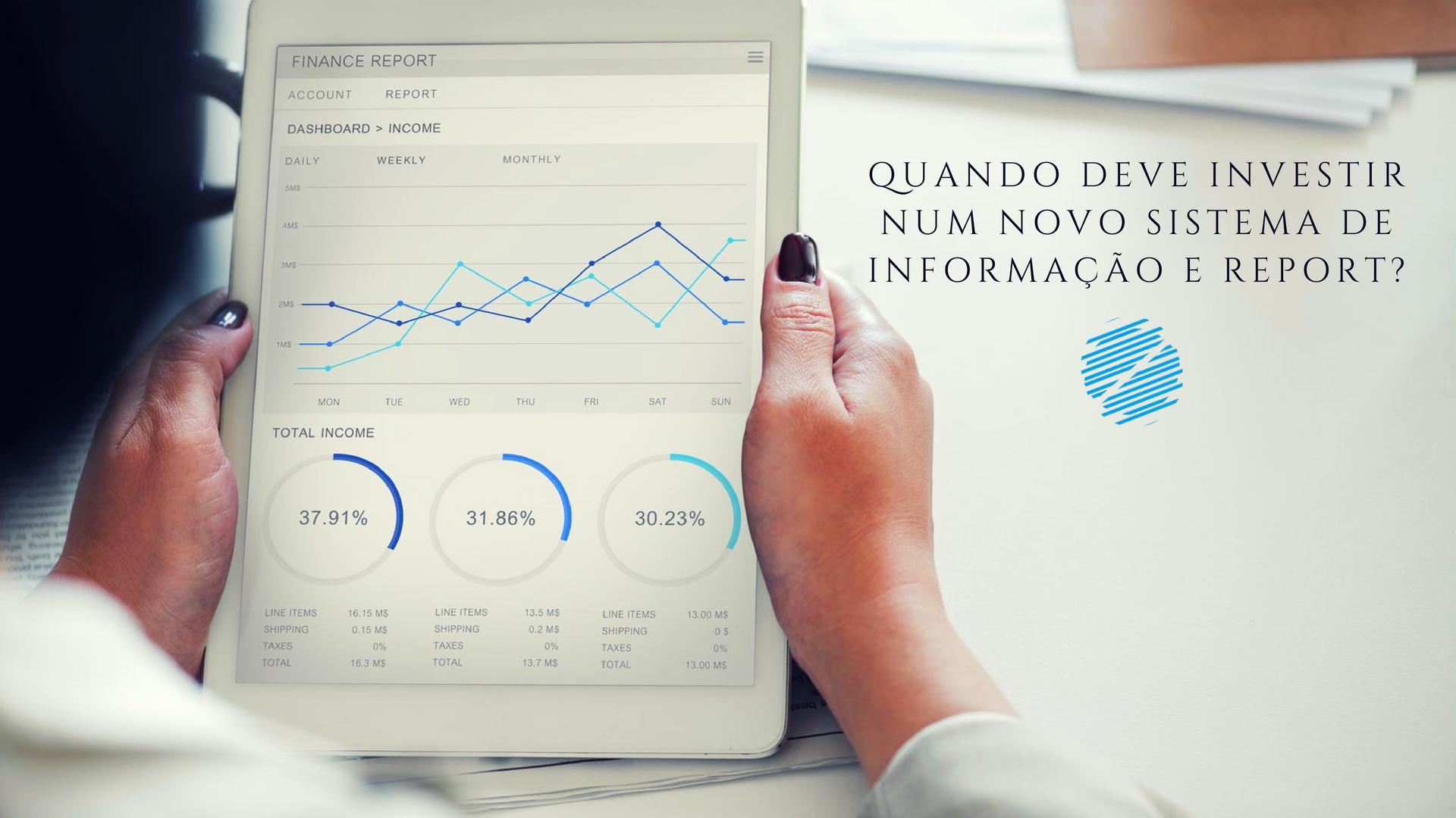 Quando deve investir num novo sistema de informação?